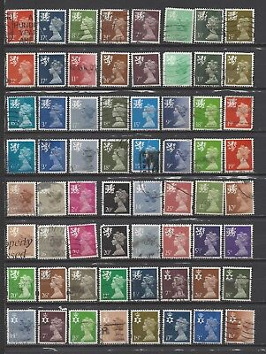 British stamps regional collection stamps machin all different gb extended mix