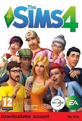 The Sims 4/ FULL GAME /PC/MAC/Digtal Download Account / Multilanguage