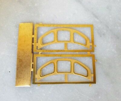 4mm Scale [00] Detailing Part –CLASS 37/40 WINDOW FRAME SURROUNDS