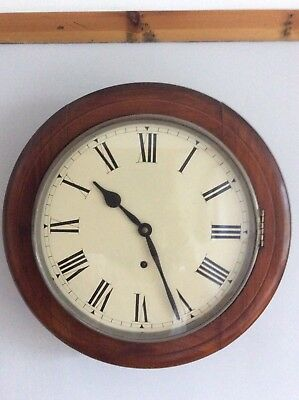 antique mahogany Wall Clock