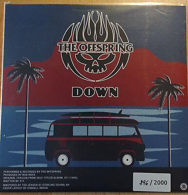 Offspring-Down / 311-Self esteem Single, Single, Limited Edition, Numbered, Milk
