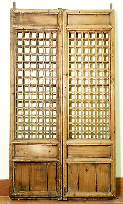 Antique Chinese Screen Panels (5128)(Temple Door), Cunninghamia wood, 1800-1849