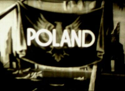 Poland - The Country And The People- Late 1940s 16MM Film