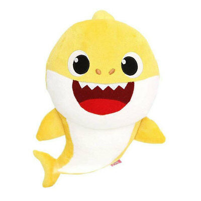 Baby Shark 30cm Sound Plush: Singing BABY SHARK - Genuine Pinkfong toy by WowWee