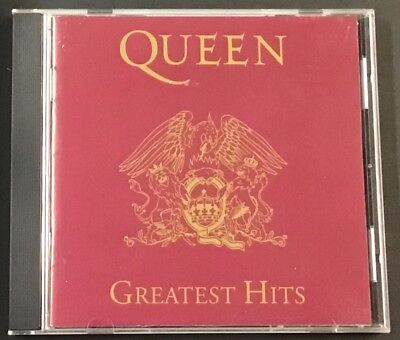QUEEN Greatest Hits CD EXCELLENT 17 Best Hits  Freddie Mercury Brian May 1992
