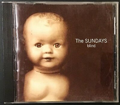 THE SUNDAYS Blind 1992 CD VG++ Geffen 24479 Wild Horse Rolling Stones cover