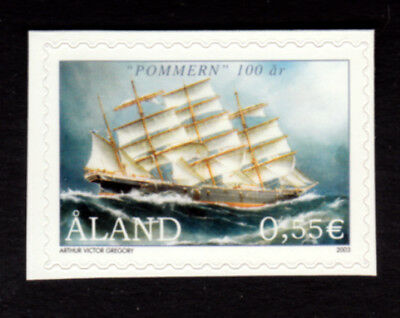 Aland 2003 Centenary of the Sailing Ship 'Pommern', self adhesive, UNM / MNH