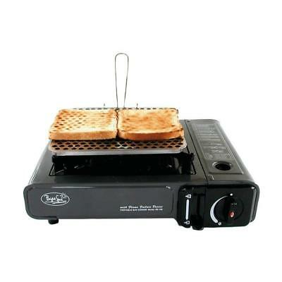 Camping Caravaning Motorhoming Festivals Toasting Plate Toaster Bread