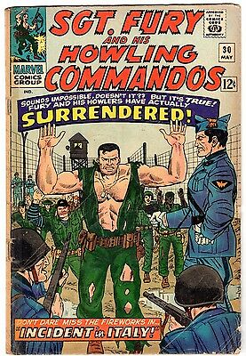 Sgt. Fury and His Howling Commandos #30, Very Good Condition