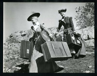 1956 GINGER ROGERS & CAROL CHANNING First Traveling Saleslady Original Photo gp