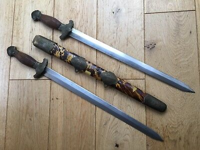 a chinese twin sword for collector