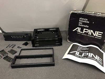 Alpine Old Classic Vintage New Old Stock Quick Release Mounting Bracket Kit