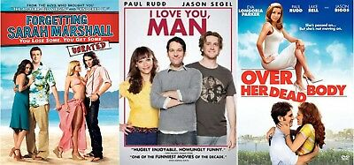 I Love You, Man, Forgetting Sarah Marshall, Over Her Dead Body (DVD, 2009, 2008)