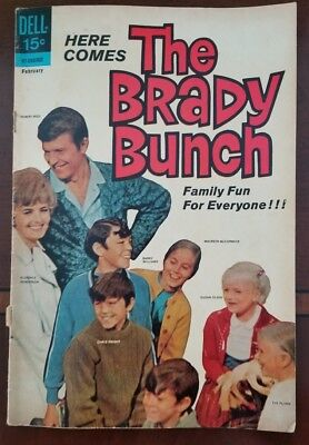 The Brady Bunch comic book No.1 1970 - 1st Issue