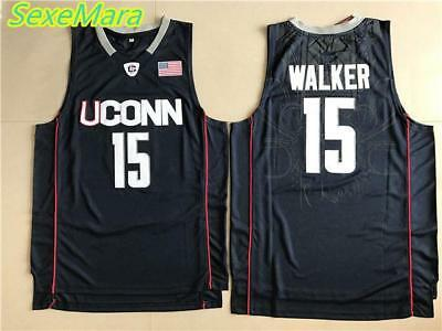 e90aa6655f22 2018 New Mens Cheap Throwback Basketball Jerseys  15 Huskies Kemba Walker  Home