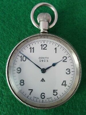 ZENITH Deck Watch,Beobachtungsuhr,Military Pocket Watch,Taschenuhr,HS 3 B - Uhr