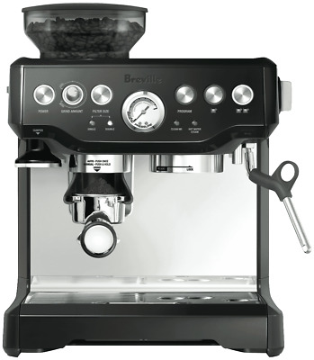 NEW Breville BES870BKS the Barista Express Coffee Machine - Black Sesame