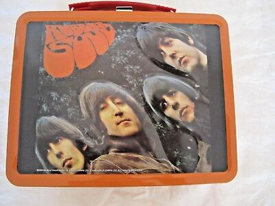 Beatles Collectible Lunch Box Rubber Soul New