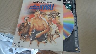 laser disc THE BRIDGE ON THE RIVER KWAI  still sealed