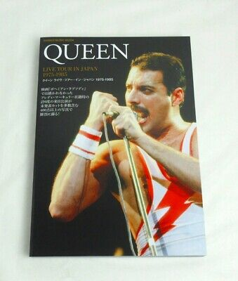 Pre-Sale QUEEN LIVE TOUR IN JAPAN 1975-1985 Photo Book more than 300 Pictures