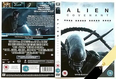 Alien : Covenant    (NO DISC, COVER ONLY)   dvd