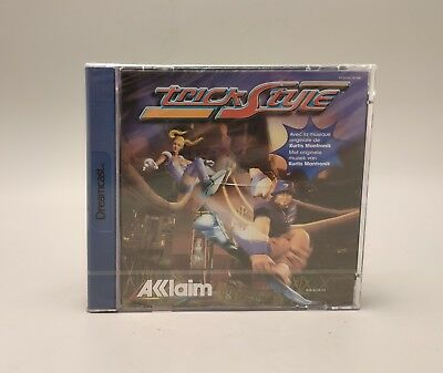 SEGA Dreamcast Trick Style PAL Factory sealed