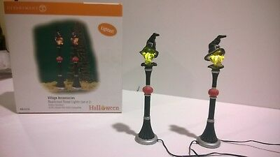 D56 Bewitched Street Lights - Set of 2 - IOB
