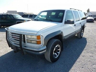 1999 GMC Suburban  1999 GMC SUBURBAN 2500 4x4 454 BIG BLOCK GREY LEATHER ZERO RUST VERY NICE !!!!!!