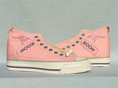 Vintage 1980s Women s KangaROOS EJH-5115 Pink Shoes With Pockets Size 6.5 b2a8a8f762f