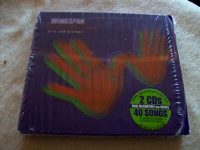 Paul Mccartney Wingspan 2 Cd Greatest Hits Original Deluxe Limited Edition