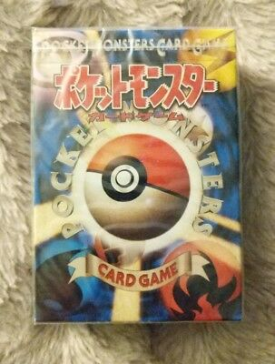 Pokémon Base Set Japanese Starter Theme Deck - New & Sealed