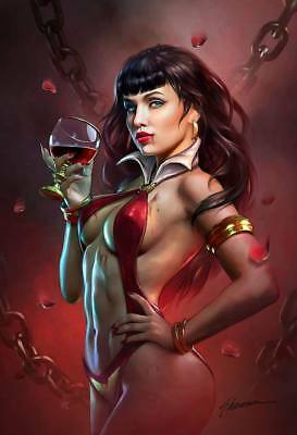 Pre-Order: VAMPIRELLA VALENTINES DAY SPECIAL Virgin Exclusive by Shannon Maer!!