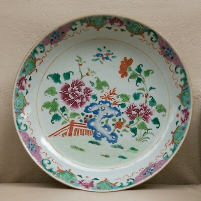 Large Chinese porcelain Plate - Qianlong 18th century in perfect condition