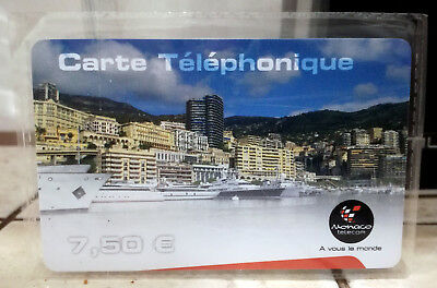 1 Carte Telephonique Monaco Telecom 2008 - 3000 Exemplaires Mint !