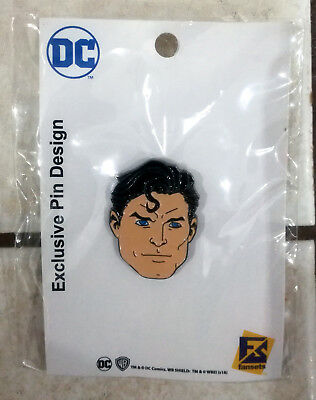Pins Exclusif Comic Con Paris Superman Neuf Encore Sous Plastique !