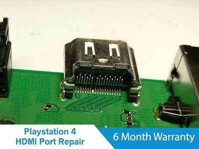 Sony PlayStation 4 PS4 System HDMI Port Replace Repair Service