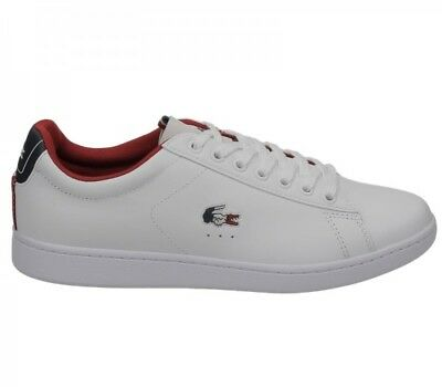 46efa923e LACOSTE CARNABY EVO 317 3 spm leather trainers shoes mens -  91.06 ...
