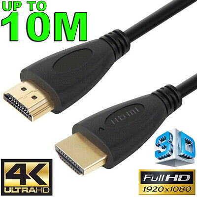 HDMI Cable v2.0 3D Ultra HD TV 4K 2160p 1080p High Speed with Ethernet HEC ARC