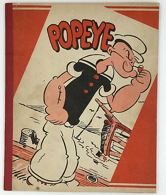 Vintage Popeye Notebook Dated 1929 King Features Syndicate