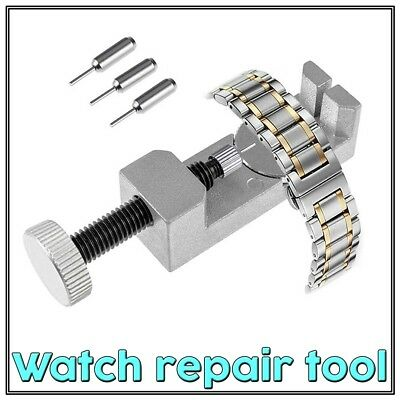Watch Band Pin Remover Link Repair Tool Kit Metal Strap Adjustable Bracelet