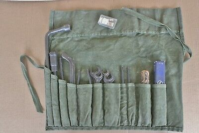 1950s Mercedes Tool Kit Pouch 180 190 190SL 220 S SE Nice condition wrap & tools
