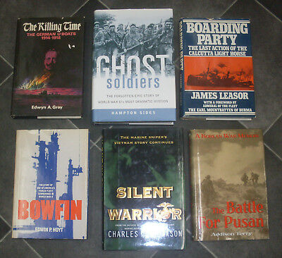 Lot of 17 Hardcover Books War Stories World War II Various Authors for Charity