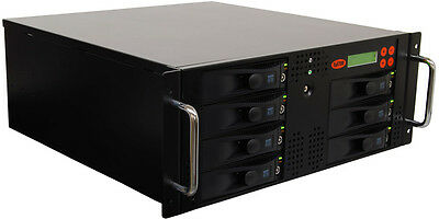 SySTOR 1:6 SATA Rackmount Hard Disk Drive HDD/SSD Duplicator Wiper- 150MB/sec