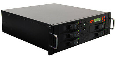 "SySTOR 1:4 SATA 3.5"" Rackmount Hard Disk Drive HDD/SSD Duplicator Cloner-300MB/s"