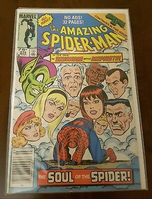 Amazing Spiderman  #274       Bagged and Boarded for 20+ years