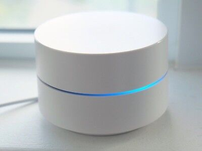 As New Google WiFi AC1200 Dual Band Mesh Router (single router)