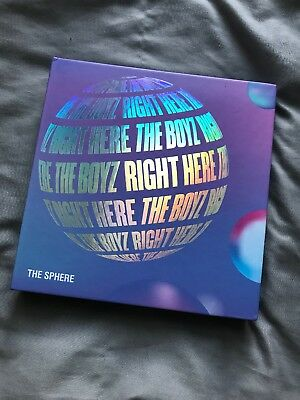 THE BOYZ THE SPHERE 1ST Single Album DREAM with Standee