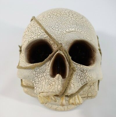 Gemmy Industry Halloween Theme Song Michael Myers Light-Up Skull Prop Decoration