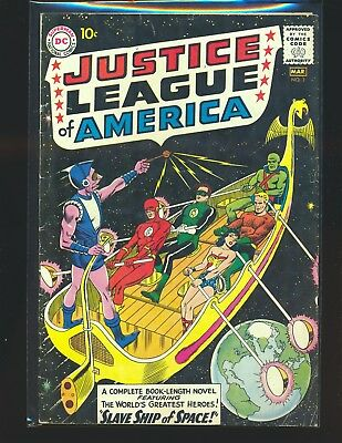 Justice League of America # 3 - 1st Kanjar Ro VG Cond.