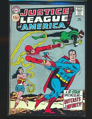 Justice League of America # 25 VG/Fine Cond. price sticker on cover